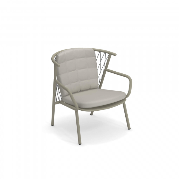 Nef Lounge Chair Short Back – Emu 1