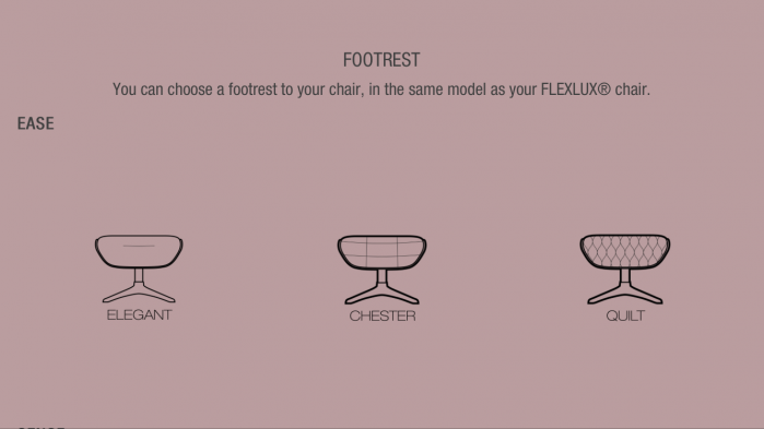 Fotoliu Flexlux Ease Quilt– Blossom Red [3]