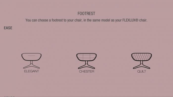 Fotoliu Quilt Ease Flexlux – Dark Blue 5