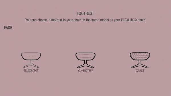 Fotoliu Chester Ease Flexlux- piele Caramel [3]