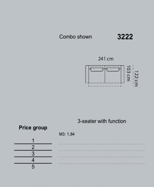 Canapea Levane 241 x 103 cm [5]