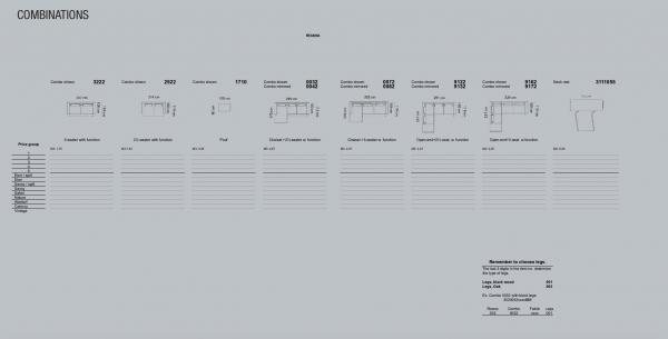 Coltar Roana 299 x 170 x 100 cm [10]