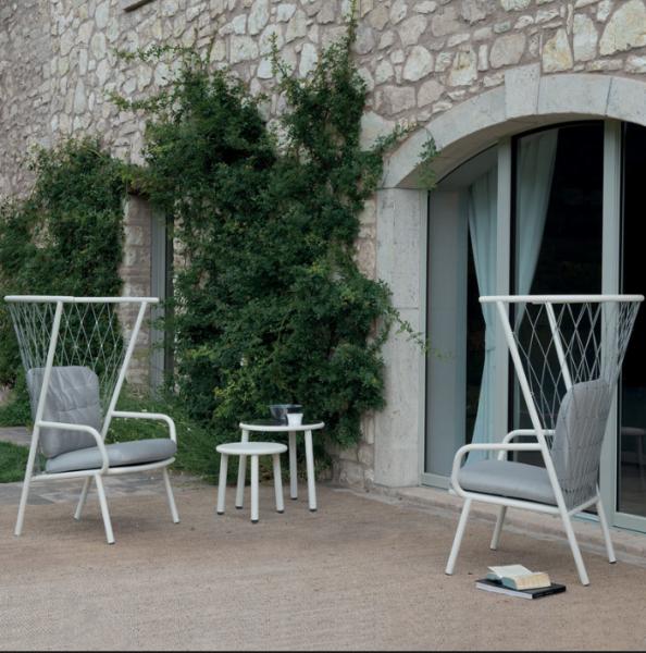 Nef Lounge Chair Tall Back – Emu [4]