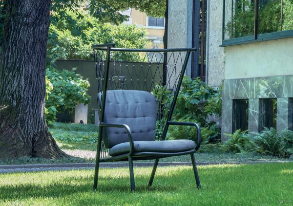 Nef Lounge Chair Tall Back – Emu [5]