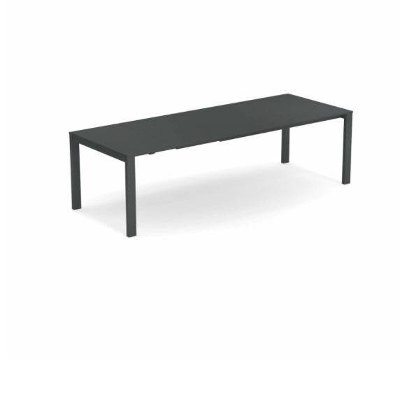 Round Extensible table with steel sheet top – Emu 2