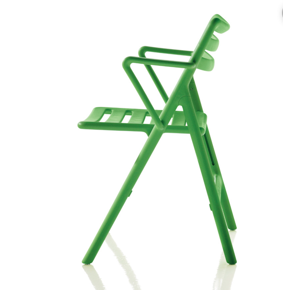 Folding Air- Chair with arms – Magis 0