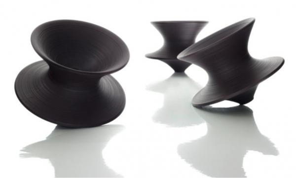 Spun Rotating Low Chair – Magis 1
