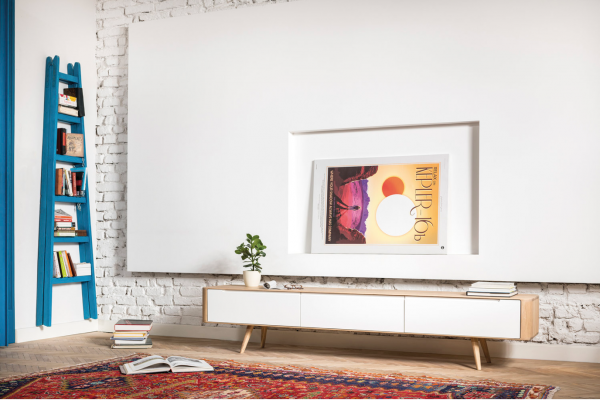 Ena TV sideboard 225x42x45 Drawers – Gazzda 5