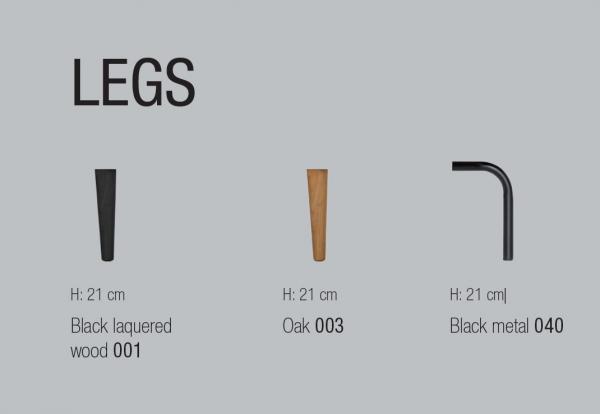 Canapea Asolo 230 X 84 cm & suport de picioare [8]