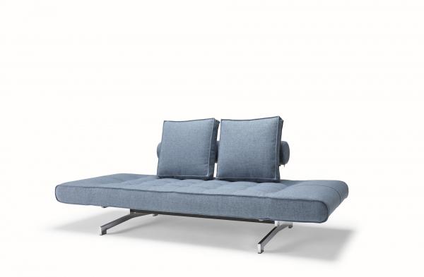 Canapea de zi Ghia cu picioare cromate 3