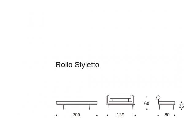 Canapea de zi Rollo 67