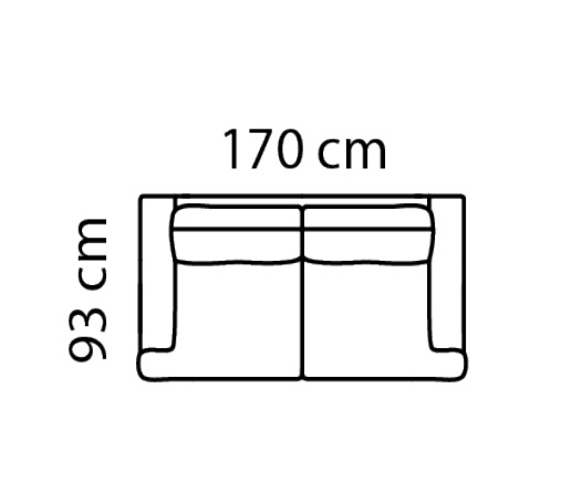 Canapea Forli 170 x 93 cm 3