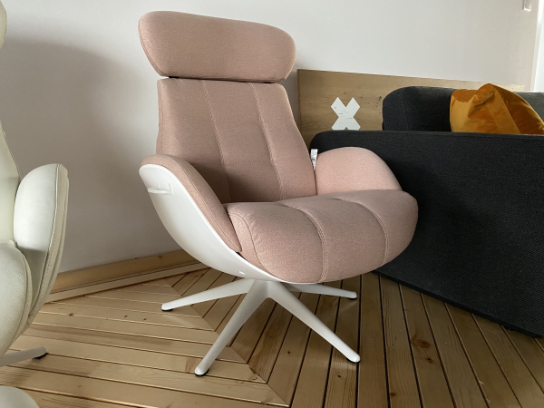 Fotoliu Chester Ease Flexlux - Coral Pink 1