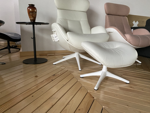 Fotoliu Flexlux Ease Elegant- Savoy Off White 2