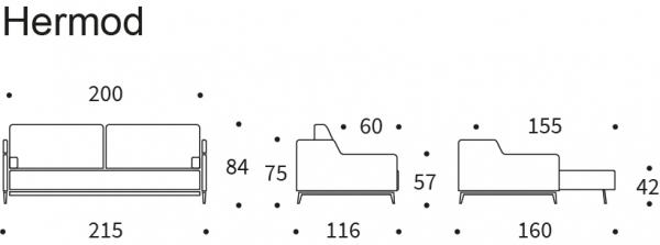 Canapea Extensibila Hermod 20