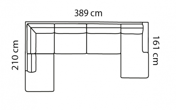 Coltar Forli 389 x 210 x 161 cm [7]