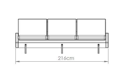 Kragelund canapea 3 locuri EGSMARK [46]