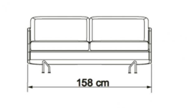 Kragelund canapea 2 locuri TVED 01 6
