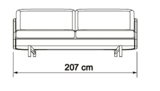 Kragelund canapea 3 locuri TVED 01 [8]