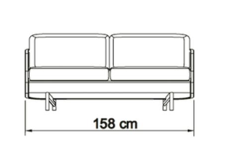Kragelund canapea 2 locuri TVED 8