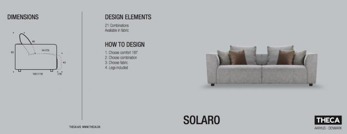 Canapea Solaro 241 X 100 cm 6