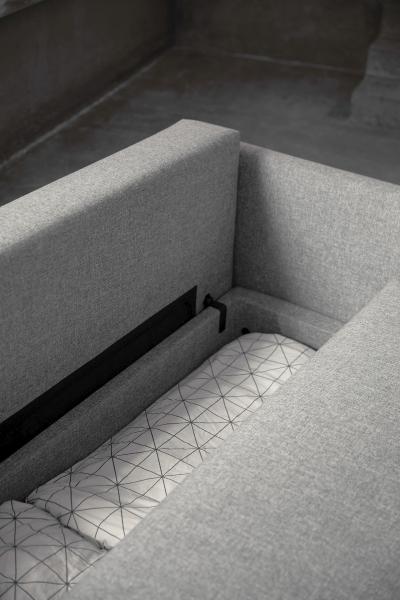 Canapea Extensibila cu depozitare TRIPI 27