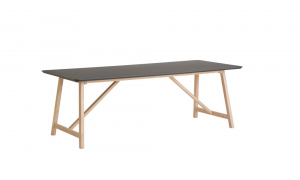 CASØ 502 dining table black laminate0
