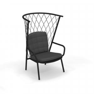 Nef Lounge Chair Tall Back – Emu [0]