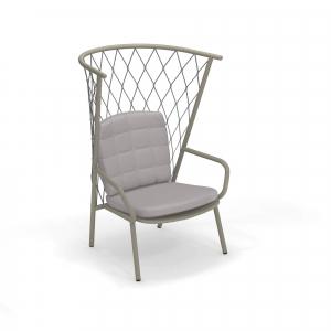 Nef Lounge Chair Tall Back – Emu [1]