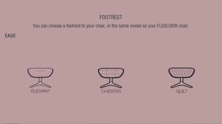 Fotoliu Quilt Ease Flexlux – Dark Blue5