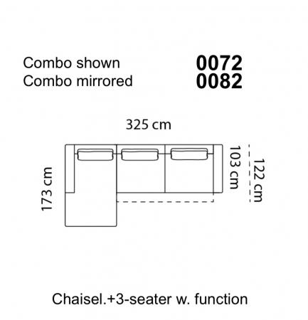 Coltar Levane 325 x 173 x 103 cm8