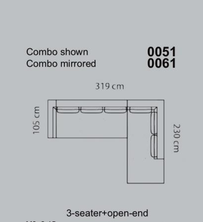 Coltar Loano 319 x 105 x 230 cm [11]