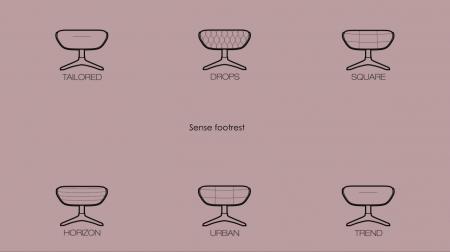Fotoliu Flexlux Sense Drops- Grey5