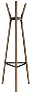 Steelwood American Walnut Coat Stand – Magis [1]