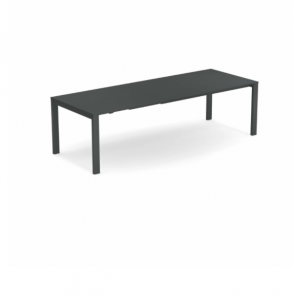 Round Extensible table with steel sheet top – Emu2