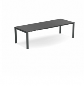 Round Extensible table with Hpl top 160+54+54×100 – Emu3
