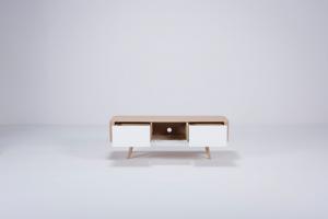 Ena TV sideboard 135x42x45 Drawers – Gazzda [3]