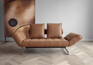 Canapea de zi Ghia cu picioare cromate11