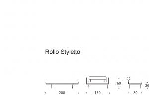Canapea de zi Rollo67
