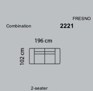 Canapea Fresno 196 x 102 cm [6]