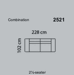 Canapea Fresno 228 x 102 cm [6]