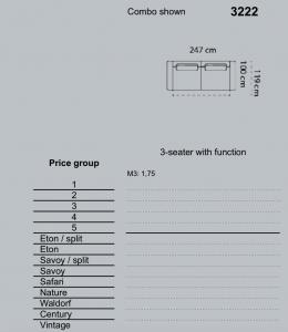 Canapea Roana 247 x 100 cm [11]