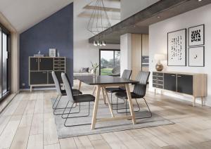 CASØ 502 dining table w. black NANO laminate2