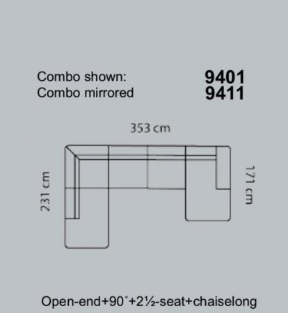 Coltar Lucera 353 x 231 x 171 cm15