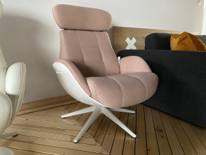 Fotoliu Chester Ease Flexlux - Coral Pink1