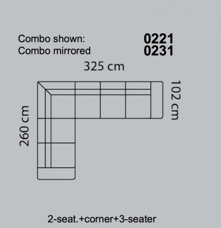Coltar Fresno 325 x 260 x 102 cm4