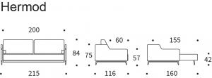 Canapea Extensibila Hermod20