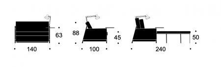 Canapea Neat 120 [3]