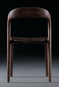 Scaun Neva Light  cu sezut din lemn– Artisan4
