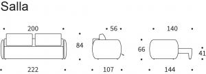 Canapea extensibila Salla12